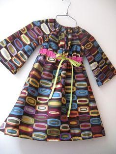 Chic everyday dress Instant download pdf pattern-12m von ManiMina
