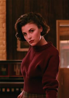 Audrey Horne in Twin Peaks. She is my everything goals.                                                                                                                                                                                 More
