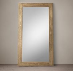 "Reclaimed English Pine Mirror - Large / DIMENSIONS 53""W X 96""H / $1295 ea"