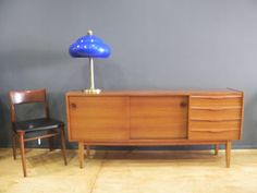 sideboard, decada muebles vintage, mid century modern, danish furniture, www,decada.com.mx