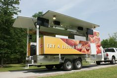 Cooking Demonstration Trailers