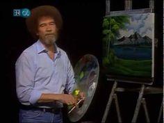 Bob Ross Quiet Mountain Lake - The Joy of Painting (Season 19 Episode 2)