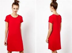 Awesome Red t shirt dress 2018-2019 Check more at http://fashionmyshop.com/review/red-t-shirt-dress-2018-2019/