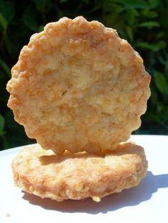 sablés apéritifs ail et fines herbes ou comment manger du boursin en biscuits !!!