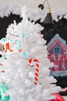 's colorful Nutcracker decorating theme really pops against the wintery branches of her Frozen Fir. White Flocked Christmas Tree, Flocked Artificial Christmas Trees, Flocked Christmas Trees, Colorful Christmas Tree, Nutcracker Christmas, Holiday Parties, Holiday Decor, Flocking, Branches