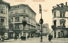 Czech Republic - In old Teplice (Teplitz) Old Photographs, Old Postcards, Rotterdam, Czech Republic, Louvre, Street View, Europe, Retro, City