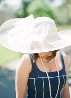 a hat fit for the Kentucky Derby! | Chris Isham #wedding