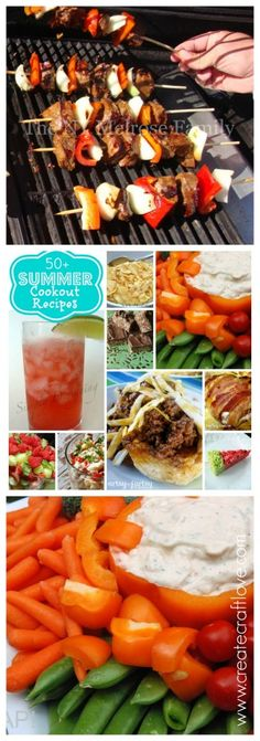 50+ Summer Cookout Recipes