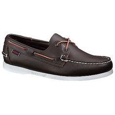 Sebago Docksides Shoes (Wine) - Men's Shoes - W