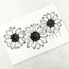 40 New Ideas For Flowers Drawing Sunflower Tattoo Ideas Sunflower Tattoo Sleeve, Sunflower Tattoo Shoulder, Sunflower Tattoo Small, Sunflower Drawing, Sunflower Tattoos, Sunflower Tattoo Design, Drawing Flowers, Tattoo Flowers, Floral Tattoo Design