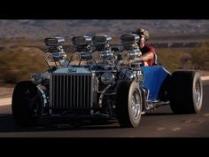 Okay Boys and Girls sit back and watch a 15 minute video of muscle car testosterone.  1927 Ford: Double-Trouble -- /BIG MUSCLE  ENJOY!