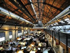 Historic Bogue Warehouse Transformed into Outstanding Solar Powered Offices in Salt Lake City | Inhabitat - Sustainable Design Innovation, Eco Architecture, Green Building