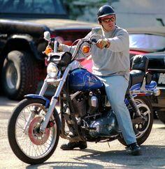 Matt LeBlanc is a real rider.