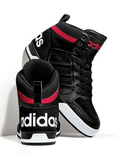 Adidas NEO High Tops rojas