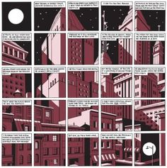 page from George Sprott by Seth