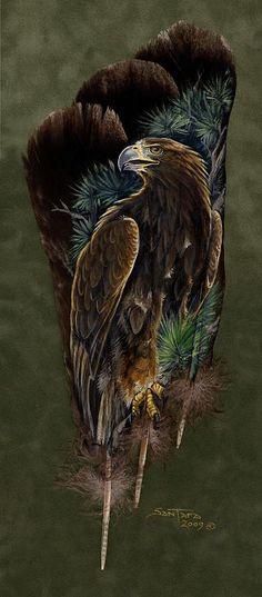 Golden Splendor Painting by Sandra SanTara
