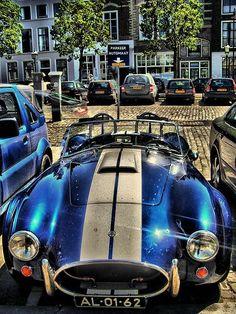 Fancy blue car, in HDR | Shelby Cobra, nice isn't it??? 5 ex… | Flickr