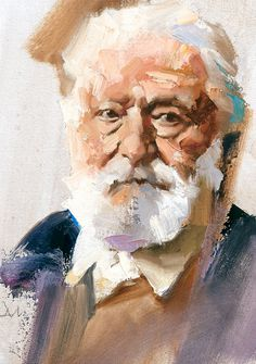 Victor Hugo by Gregory Manchess