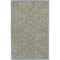 @Overstock - Area rug will add a stylish and durable touch to your home decorFashionable rug is hand-tufted of 100-percent New Zealand wool pileFloor rug features a transitional motifhttp://www.overstock.com/Home-Garden/Hand-tufted-Oslo-New-Zealand-Wool-Rug-8-x-11/4401354/product.html?CID=214117 $356.99