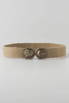 Gilded Thistle belt by Anthropologie.  $38