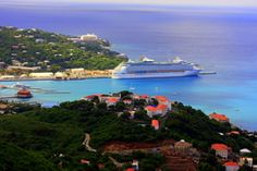 Charlotte Amalie, St.Thomas ................... St Thomas, USVI, is the gateway island for the United States Virgin Islands. On St Thomas is the Cyril E. King Airport and ferry service to both St John and St Croix. The capital of the U.S. Virgin Islands is Charlotte Amalie, located in St Thomas.