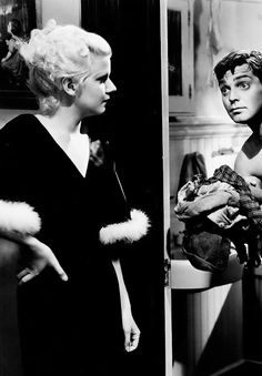 Jean Harlow and Clark Gable in Hold Your Man, 1933.