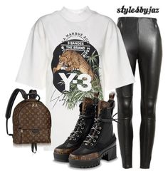"""""""Untitled #680"""" by harrisjazmin on Polyvore featuring Y-3"""