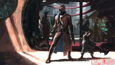 First 'Guardians of the Galaxy' Concept Art by Charlie Wen