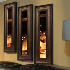 Molly Dawn Bronze and Black Mirror Panel
