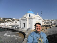 Paulo Portugal - Mykonos / GRECIA Mykonos, Portugal, Louvre, Building, Travel, Viajes, Buildings, Destinations, Traveling