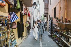 Yelena and Liam's 39 guest  Crete wedding. Photography by HannaMonika. Read more..... @intimateweddings.com #realweddings #smallweddings