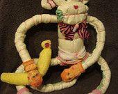 Diaper Cake - Diaper Monkey - Baby Shower Gift