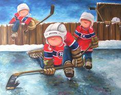 michel sauve artiste peintre/IMAGES - Google Search Hockey Cards, Illustrations, Tole Painting, Patriots, Art For Kids, Canvas, Drawings, Creative, Artwork