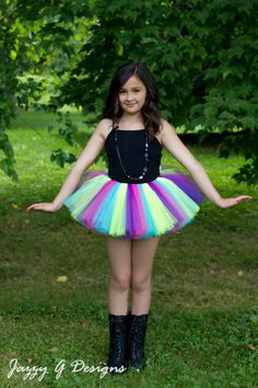 The Funky Monkey Giveaway! Win the Tutu of your choice from Jazzy G Designs - 2 WINNERS! Ends 8/29/15 #etsy #tutu #colorrun #dressup