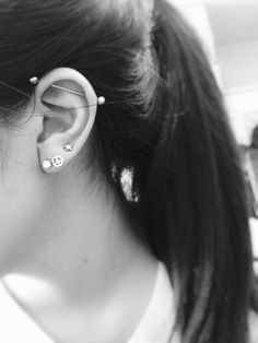 I want an industrial piercing but it's suppose to be one of the most painful