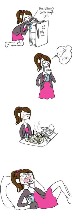 A girl's life Funny Illustration, Illustrations, Girl Truths, Fun Comics, Just Smile, Girls Life, Funny Stories, Humor, Comic Strips