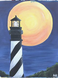 Faro di saint Augustine, Florida - What is Your Painting Style? How do you find your own painting st Fall Canvas Painting, Simple Canvas Paintings, Easy Canvas Art, Small Canvas Art, Autumn Painting, Diy Painting, Easy Acrylic Paintings, Lighthouse Painting, Painting Inspiration