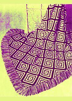 PDF Vintage 1970s Groovy DIAMONDS Afghan Knitting Pattern Knitting Patterns, Crochet Patterns, Knitted Afghans, Hippie Chick, Green Goddess, Afghan Blanket, Bedspreads, Vintage Knitting, Striped Knit