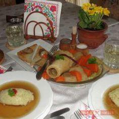 Velős marhacsont leves óriási daragaluskával