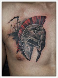 gladiator mask tattoo - Hledat Googlem