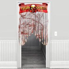 Creepy Carnival Door Curtain 54in - Party City