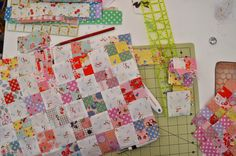 "1/4"" mark: Spring patchwork and so on!"