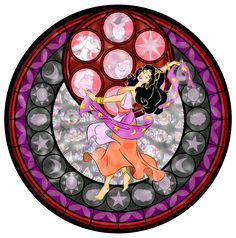 My latest in my Kingdom Hearts Stain Glass Series. Artwork by me Esmeralda and Kingdom Hearts (c) Disney and Square Enix used: photoshop Esmeralda - Kingdom Hearts Stain Glass Estilo Disney, Arte Disney, Disney Magic, Kingdom Hearts, Disney Stained Glass, Stained Glass Art, Disney And Dreamworks, Disney Pixar, Disney Characters
