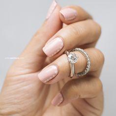 Something Borrowed | Petite Peinture #nails #nailart #naildesign #wedding #dots #pink #blush #julep #julepmaven #tiffanyandco @julepmaven