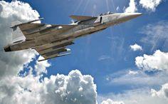 Swedish Jas 39 Gripen.