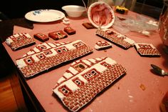 """Our """"Tornado Smashed"""" Gingerbread House!   Celebration Generation: Food, Life, Kitties!"""