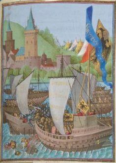 1° « Les Croniques que OROSIUS compila... »; 2° « Les anciennes Histoires des Romains » Date d'édition : 1401-1500 Français 64 Folio 337r
