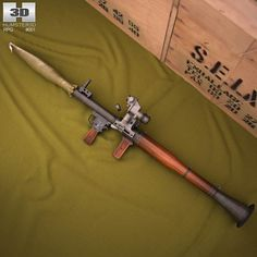 RPG-7 3d model from humster3d.com. Price: $50