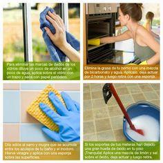 Varios trucos de limpieza