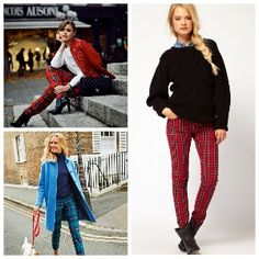 15 modern ways to wear tartan pants